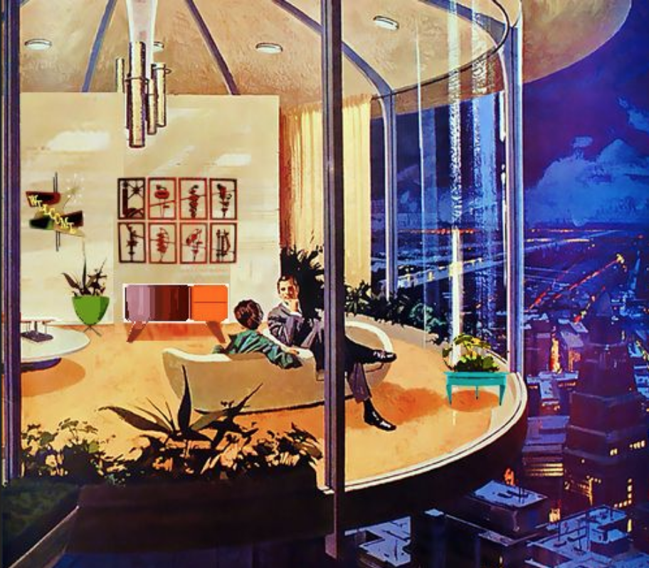 Midcentury Modern Styles Space Age Design For The Bold - Futuristic-house-with-space-age-design